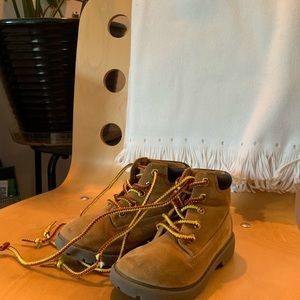 Boys boot suede brown fall winter size 10 boy